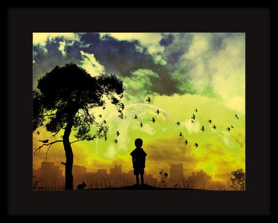 «Светящаяся картина»