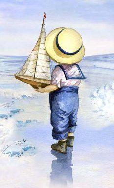 «Мальчик с корабликом»