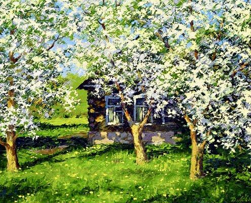 «Весенний сад»